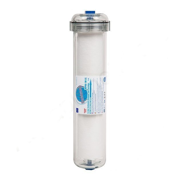 AIPRO-1M-CL 2,5″ x 10″ In-line sediment filter cartridge